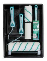 "Harris Blade Decorating Kit - Incl. 1x 2"" Brush & 3x Roller Sleeves"